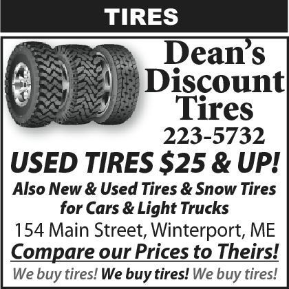 Bangor Daily News Classifieds Weekly Display Tires